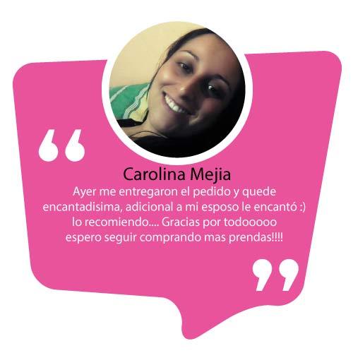 Recomendacion tu pijama Carolina Mejia